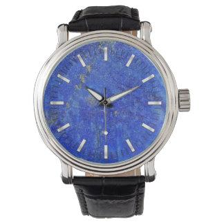 Pedra preciosa azul de Lazurite Relógio De Pulso