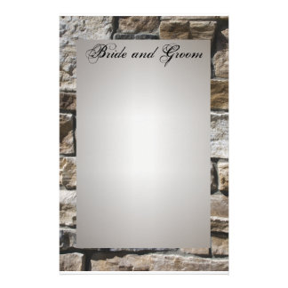 Pedras angulares que Wedding artigos de papelaria