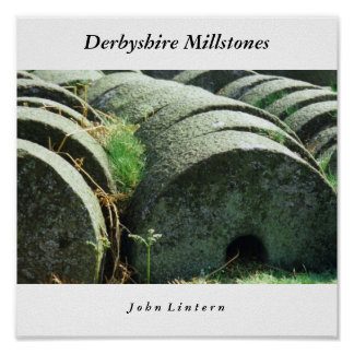 Pedras de moer de Derbyshire, J o h… Posters