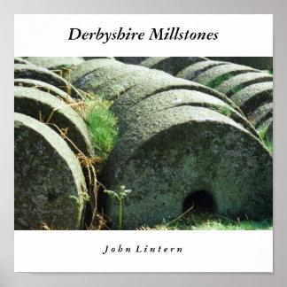 Pedras de moer de Derbyshire, J o h… Pôster