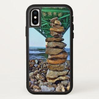 Pedregulhos de Mackinaw na capa de telefone de