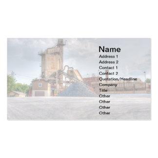pedreira de pedra cartão de visita