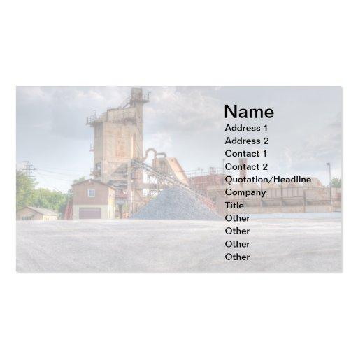 pedreira de pedra cartões de visita
