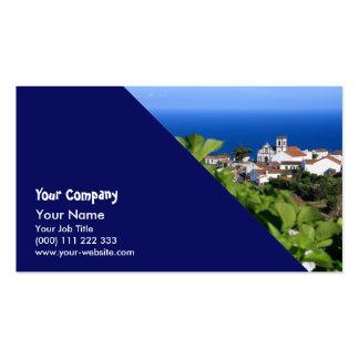 Pedreira - Nordeste, Açores Cartão De Visita