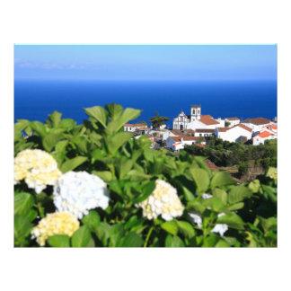 Pedreira - Nordeste, Açores Modelo De Panfletos