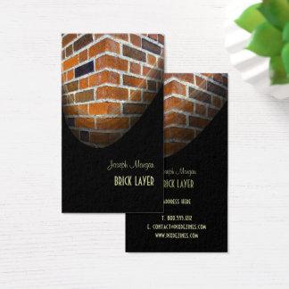 Pedreiro, cartões de visitas de pedra dos