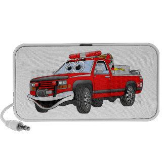 Pegare desenhos animados do carro de bombeiros caixinhas de som para iPhone