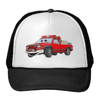 Pegare desenhos animados do carro de bombeiros bones