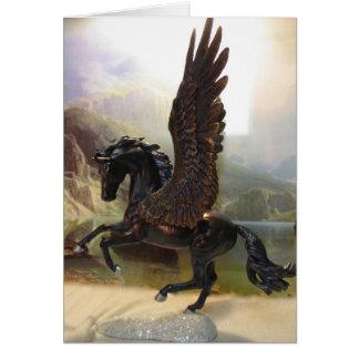 Pegasus preto cartão