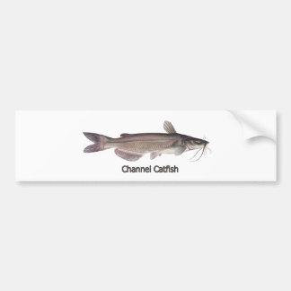 Peixe-gato de canal (intitulado) adesivos