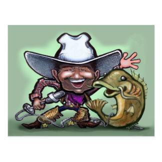Peixe-gato do vaqueiro nenhum CARTÃO da arma