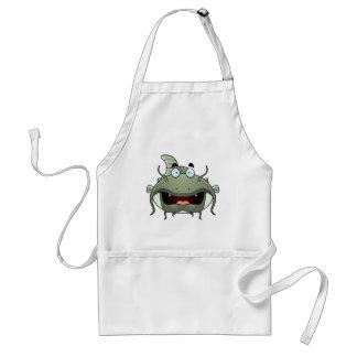 Peixe-gato dos desenhos animados avental