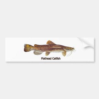 Peixe-gato Flathead Adesivos