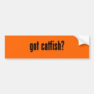 peixe-gato obtido? adesivo