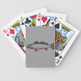 Peixes 2 baralho para poker