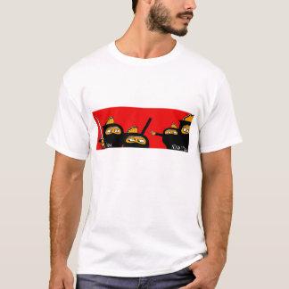 peixes 4 do ninja camiseta