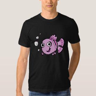 Peixes cor-de-rosa bonitos t-shirt