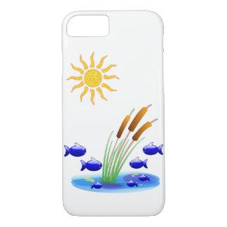 Peixes das capas de iphone