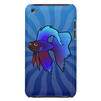 Peixes de Betta dos desenhos animados/peixes de co Capa Para iPod Touch