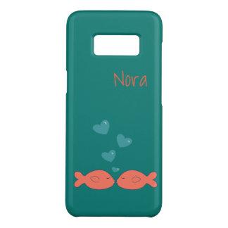 Peixes de Kissy personalizados Capa Case-Mate Samsung Galaxy S8