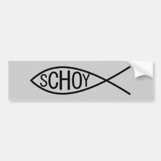 Peixes de Schoy Adesivos