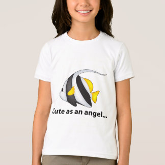 Peixes do anjo camiseta
