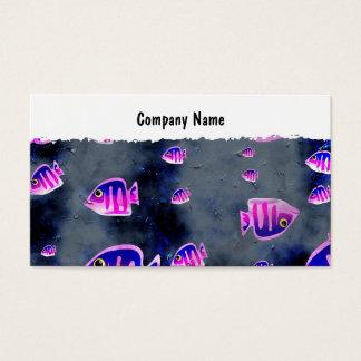 Peixes do Grunge, nome da empresa Cartão De Visitas