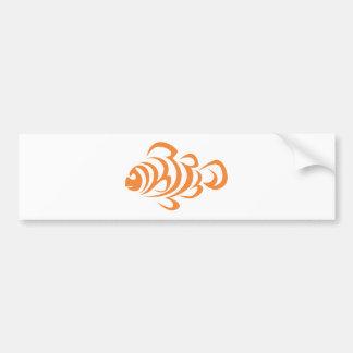 Peixes do palhaço adesivo para carro