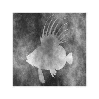 peixes do peixe-galo impressão em tela