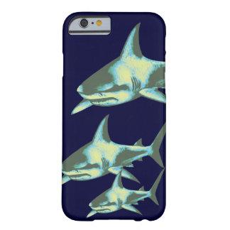 peixes do tubarão, animais selvagens capa barely there para iPhone 6