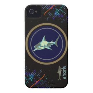 peixes do tubarão, animal de mar selvagem capinhas iPhone 4