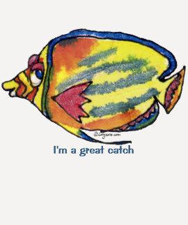 Peixes dos desenhos animados 21 grandes camisas da tshirts