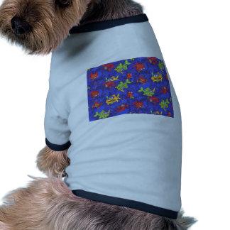 peixes dos desenhos animados camisetas para cães