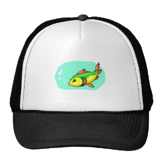 Peixes dos desenhos animados bones