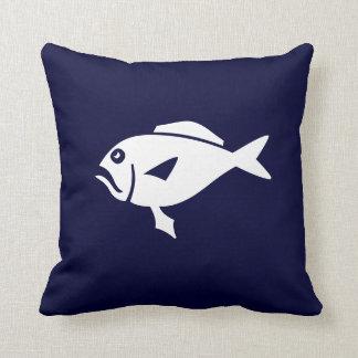 peixes dos desenhos animados   no travesseiro dos
