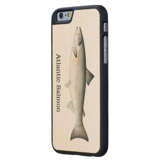 Peixes dos salmões atlânticos