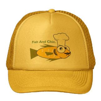 Peixes e Chic. Boné