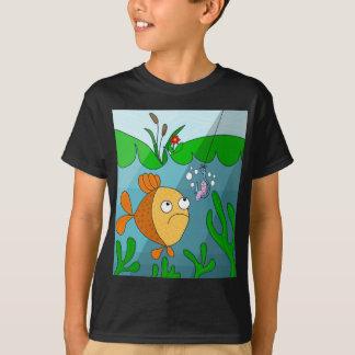 Peixes e sem-fim camiseta