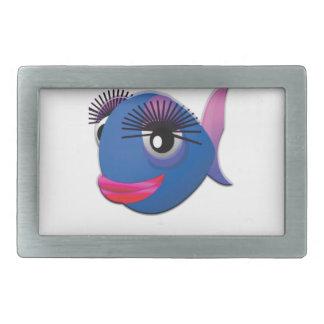 peixes grandes azuis dos lábios