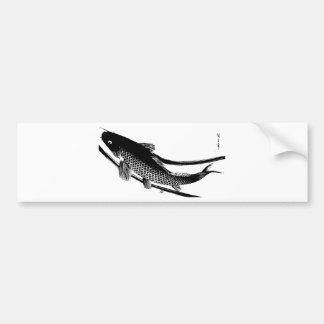 Peixes japoneses adesivo para carro