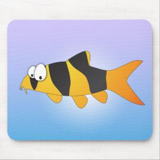 Peixes legal - loach do palhaço mousepads