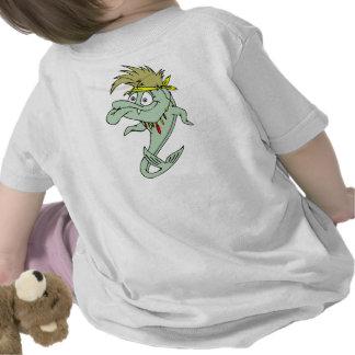 Peixes loucos do Hippie Tshirts