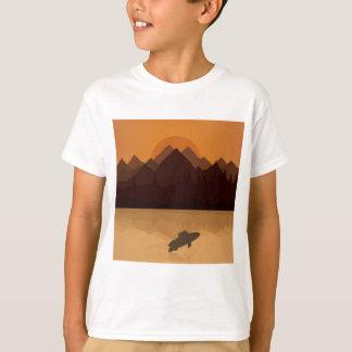 Peixes no lago camiseta