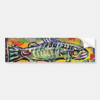 Peixes populares Funky #10 Adesivo Para Carro