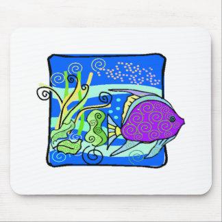 Peixes roxos