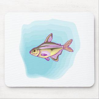 Peixes Tetra roxos Mousepad