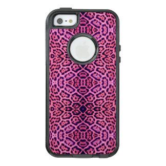 Pele cor-de-rosa e roxa de Jaguar