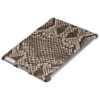 Pele de cobra capa para iPad