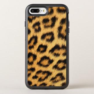 Pele de Jaguar Capa Para iPhone 7 Plus OtterBox Symmetry