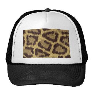 Pele do leopardo boné
